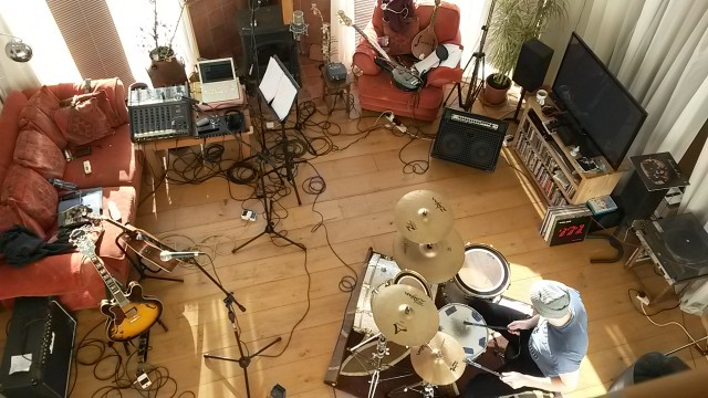 Overhead View of live room